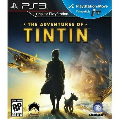 The Adventures Of Tintin: The Secret Of The Unicorn The Game (PS3) *VERY GOOD...
