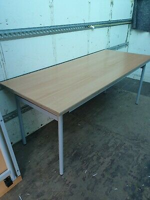 6'  ( 180 cms ) catering tables market tables wood with steel foldaway legs