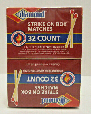 Matches 10 Pack - Diamond Strike on Box 32 Count
