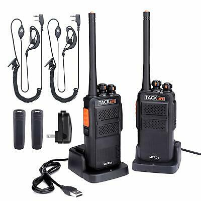 Walkie Talkies Rechargeable, Professional Long Range Two-Way Radios 2-Pack with