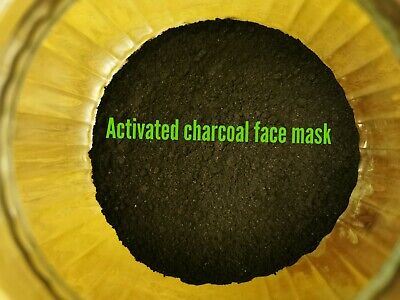 40g Activated Charcoal Face Mask Black Powder high quality 100 % pure
