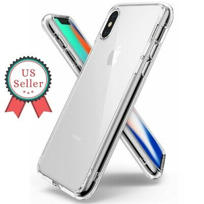 For Apple iPhone 7 8 Plus X XS MAX XR Clear Shockproof Protective Cover Case