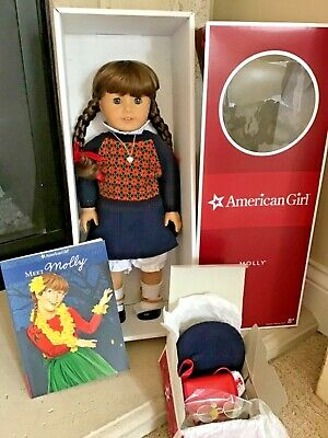 Molly American Girl- historic and retired doll-All new in Box!