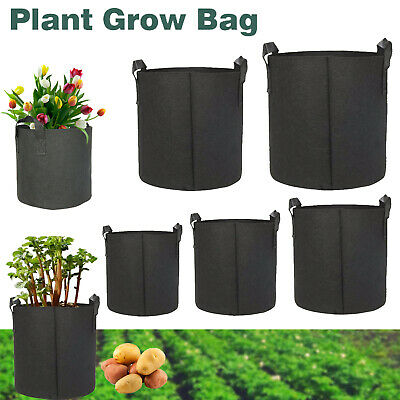 1 3 5 7 10 Gallon Fabric Grow Pots Breathable Plant Bags Smart Plant with handle