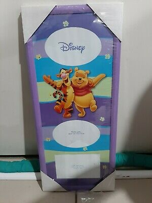 Winnie The Pooh Photo Frame For Wall Purple Brand New