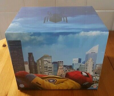 Spider-Man Homecoming Ltd Collectors Edition 4K Blu-ray & Figurine & Comic - New
