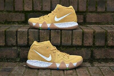 new concept 29937 731c1 NIKE KYRIE 4 Cinnamon Toast Crunch Size 9 Basketball Shoes ...