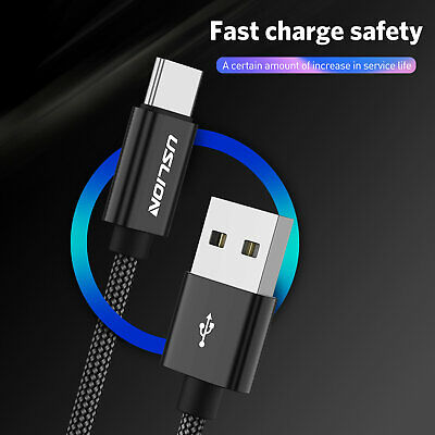 USB Type C Cable Quick Charge QC3.0 USB-C Fast Charging Mobile Phone Data Cable