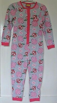 New Moshi Monster 100% cotton all in one sleepsuit  5-6 years Great for camping