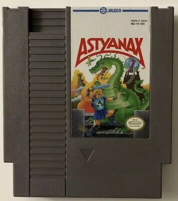 Astyanax (Nintendo Entertainment System, 1990) NES Game Cartridge FREE SHIPPING!