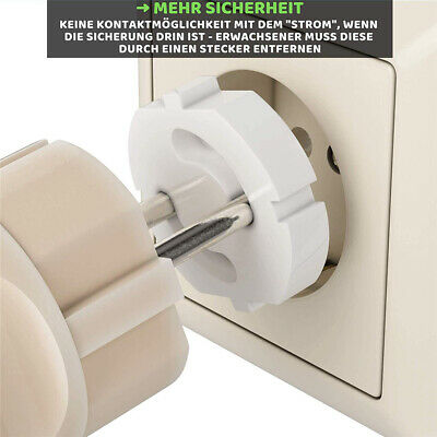 Socket Protector Baby Safety Electrical Outlet Cover Anti Electric Shock EU Plug