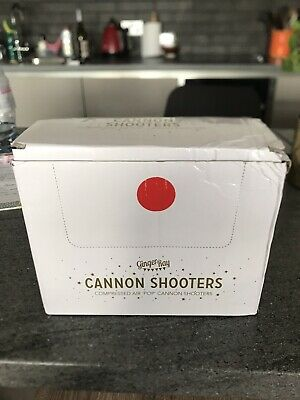 3x White Confetti Cannon Shooters by Ginger Ray Wedding Perfect for Party