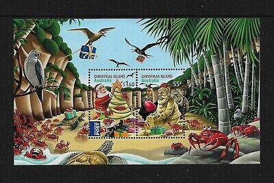 CHRISTMAS ISLAND 2012 Christmas, No.2, mint mini sheet, MNH MUH