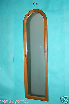 "Classic-Antique Style -Long-Arched Full Lgth 51""X14"" 6Kg-Wood Frame Mirror"