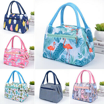 Portable Thermal Lunch Bag Waterproof Insulated Lunch Box Food Storage Container