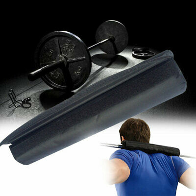 Barbell Pad Squat Bar Supports Weight Lifting Pull Up Neck Shoulder Protect New