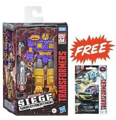 (P) Transformers Generations Siege War For Cybertron Wfc Deluxe Impactor Figure