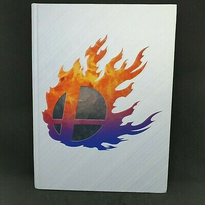 Super Smash Bros Collectors Edition Strategy Guide Nintendo Wii U 3DS FREE POST
