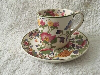 Antique Groups Wedgwood Etruria Demitasse Cup & Saucer Duo