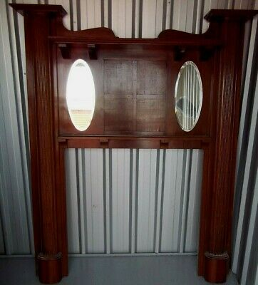 Vintage Blackwood Fireplace Surround , pick up in Geelong