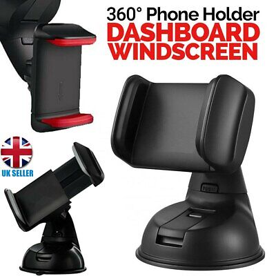360 Car Mobile Phone Holder Universal Mount Windscreen Dashboard Suction iphone
