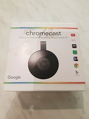 Chromecast 2 Digital HDMI Media Video Streamer New 2nd Generation Google Useful