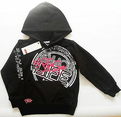 Sweat Shirt Gr.110 /116 name It NEU schwarz Kapuze Pulllover hoodie kinder