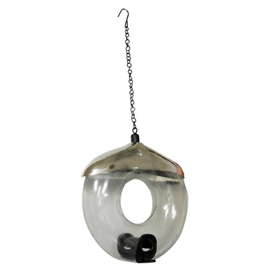 Deluxe Donut seed feeder, attracts a variety of wild birds for most bird seed