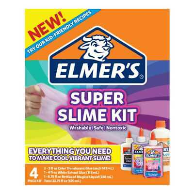 NEW Elmers Super Slime Kit By Spotlight