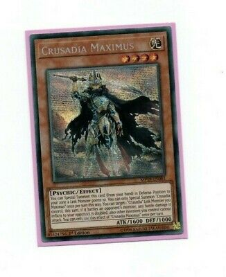 YU-GI-OH CARD MP19-EN081  CRUSADIA  MAXIMUS - Prismatic Secret Rare