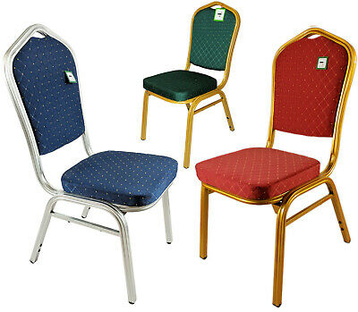 Blue Silver Red Gold Banquet Chairs Restaurant Stacking Conference Banqueting