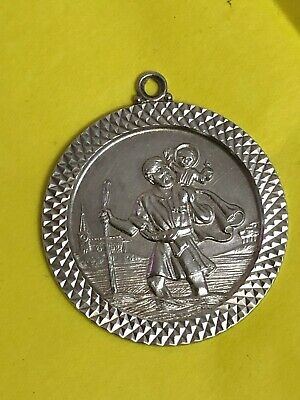 Sterling Silver St Christopher's Pendent - Apex Jewellery - 1976