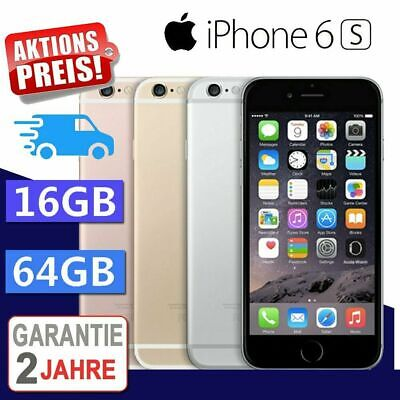 ☀️Neu Apple iPhone 6S 64GB Smartphone Spacegrau / Silber / Gold / Rosegold DE