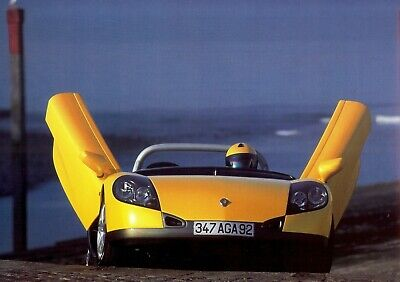 """RENAULT Sport """"Spider"""" with & without windshield - 1997 - Belgian sales brochure"""