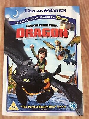 NEW Dreamworks: How To Train Your Dragon (DVD, 2008) SEALED