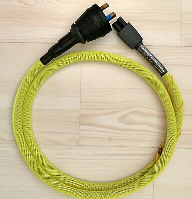 GUTWIRE Canada Basic Clef power cord AC mains cable hand crafted NEW