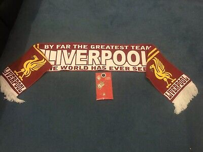 Liverpool FC Scarf And Official Keyring/Pin Badge