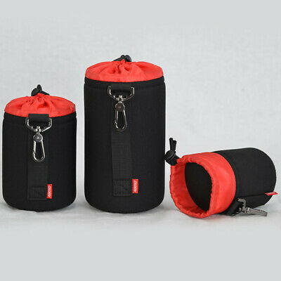 Waterproof DSLR Camera Lens Bag Case Soft Protector Carry Pouch for Nikon Sony