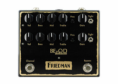 Friedman Amplification BE Deluxe Overdrive DEMO