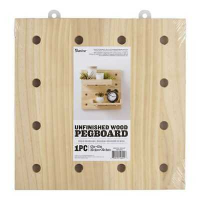 NEW Wood Large Pegboard By Spotlight