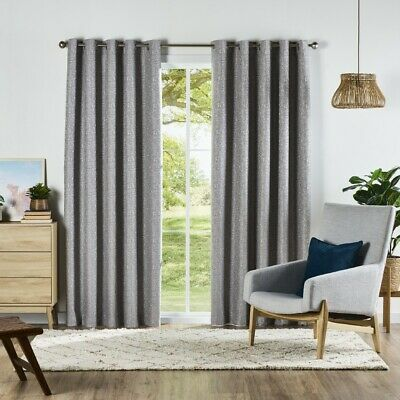 NEW KOO Marble Eyelet Curtains By Spotlight