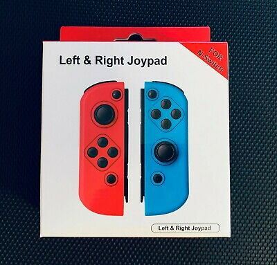 Red & Blue Joy Pad Replacement For Nintendo Switch Joy-Con Wireless Controllers