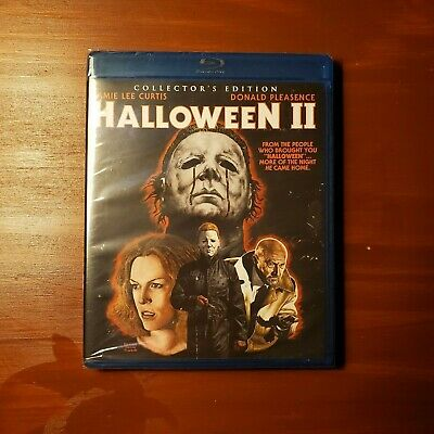 Halloween II (1981 Collectors Edition Blu ray) - Horror/Slasher Movie