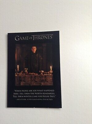 Game Of Thrones Season 7 Quotable Chase Card - Q61