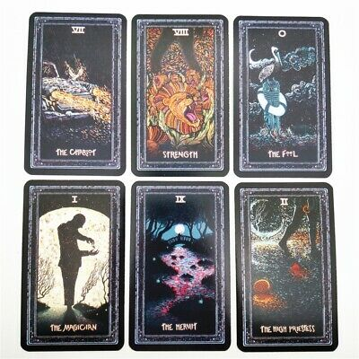 English 78pcs Deck TAROT CARDS DIY Tarot Board Game for Plating Prisma Visions