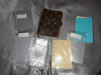 100% Authentiv Louis Vuitton PM Agenda With Inserts