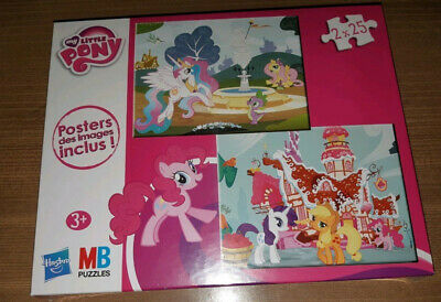 Puzzle My Little Pony 2 x 25 pièces - Neuf sous blister - NEW