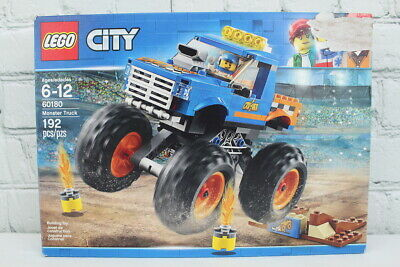 Lego City Monster Truck (60180) Complete with Box