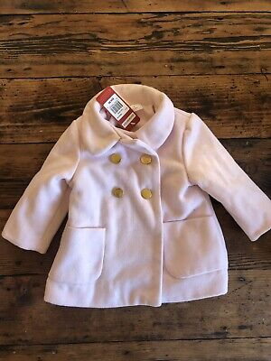 Sprout Girls Baby Pink Coat