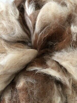 Alpaca Fibre Wool - 100gm - Washed - Spinning Felting